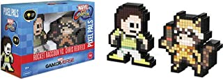 PDP Pixel Pals Marvel vs. Capcom Infinite Rocket Raccoon vs. Chris Redfield Collectible Figure 2 Pack, 878-042-NA-MvC3