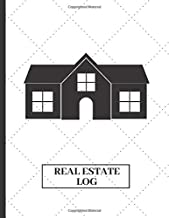 Real Estate Log: Real estate client portfolio management book (Real Estate client log)