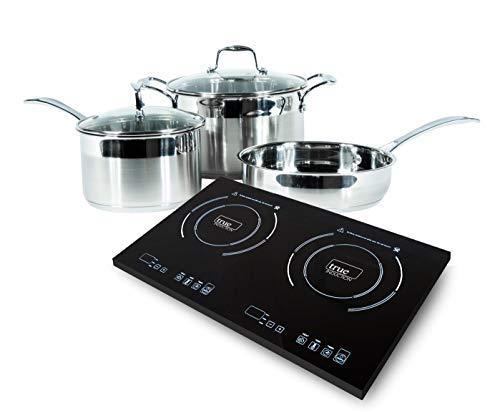 True Induction 2 burner portable cooktop