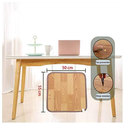 Ocye Voetenwarmer, elektrisch, van koolstofkristal, verwarmingsmat, 2 temperaturen, energiebesparend, voor thuis en op kantoor