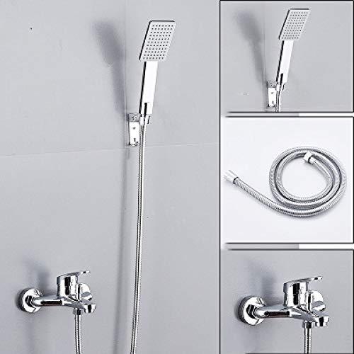 DHKJ Conjunto De Ducha Cabezal De Ducha Baño Ducha Hogar Simple Baño Booster Grifo De Ducha