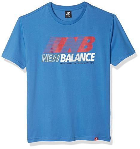 New Balance Men's Essentials Speed Action Short Sleeve,...