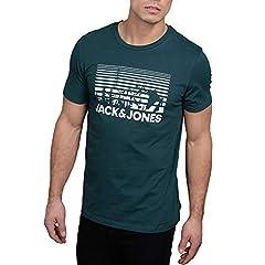 JACK & JONES Camiseta Manga Corta Hombre Casual