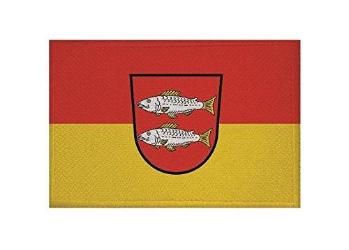 U24 Aufnäher Forchheim Fahne Flagge Aufbügler Patch 9 x 6 cm