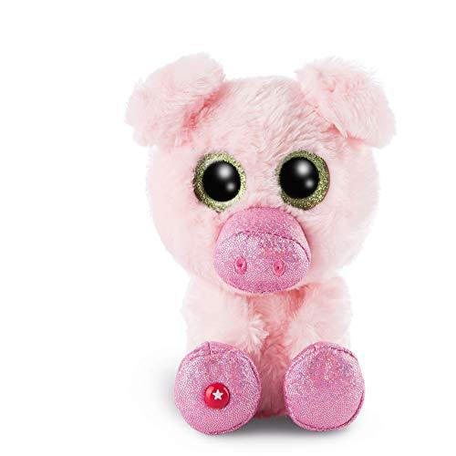 NICI 46629 Glubschis Schwein Zuzumi, ca. 15cm, Pink-rosa