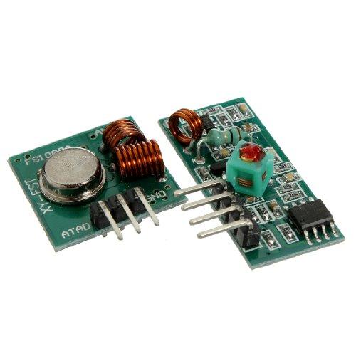 433Mhz WL RF Module Émetteur+Récepteur Télécommande Pour Arduino/ARM/MCU ASK