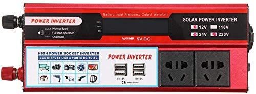 ZW18U PC 1 Perfectamente VD-1500LCD 12V 24V A 110 V LCD LCD Limited Limited Sine Power Inverter (Color: 12V-220V) Mecánico (Color: 24V-220V) Piezas de Repuesto