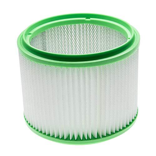 vhbw Filtro plisado compatible con Makita 440 83133B8K, 448 83203BJA aspiradora en seco y mojado -Filtro, cartucho