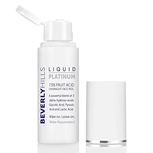 Beverly Hills - Exfoliación Facial Líquida de Platino al 7,5% de Ácido de Frutas con Tres Alfa-Hidroxiácidos (50 ml)