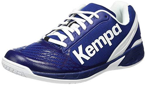 Kempa Herren Attack Indoor Handballschuh, Blau, 42 EU