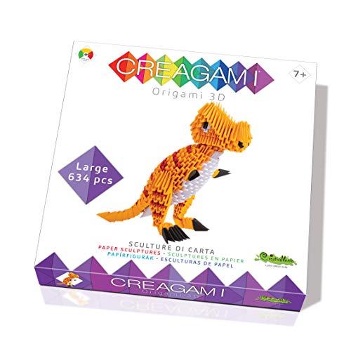 CreativaMente- Creagami T-Rex - Juego en Caja (735)