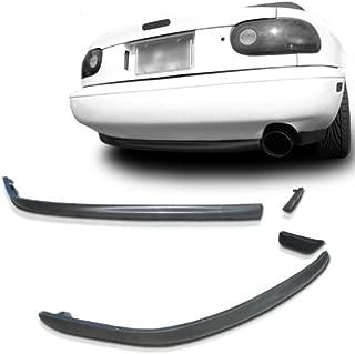 Mazda Miata NA MX5 RS Style Urethane Rear Bumper Lip For 90-97 Models