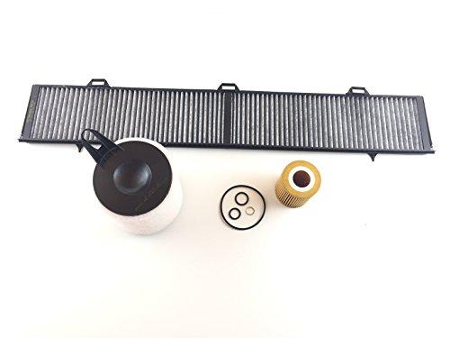 Oljefilter luftfilter aktivt kolfilter E87 116i se begränsning inspektionskit Filter Kit Filter Set Service Kundtjänst