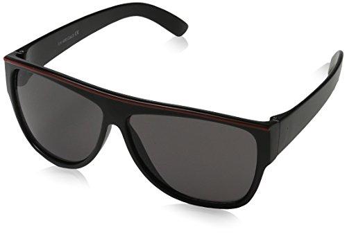 Dice Gafas de Sol Infantiles Matt Black/Red Talla:Talla única