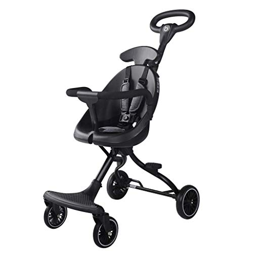Best Review Of Baby Stroller, Foldable and Portable Pram Carriage Pushchair, 5-Point Harness and Hig...