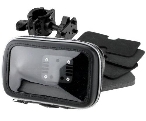 Wasserdicht GPS Navigation Tasche mit Halter passt für Motorrad und Farrad