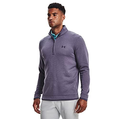 Under Armour Men's Storm Snap Fleece 1/2 Zip T-Shirt , Twilight Purple (500)/Twilight Purple , XX-Large