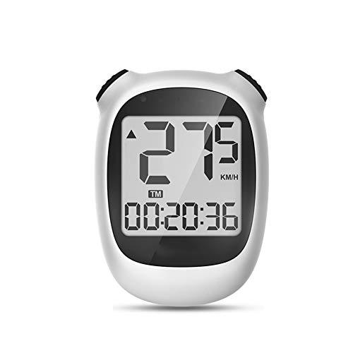 Bicicleta Velocímetro, Mini GPS inalámbrico de Bicicletas Velocímetro y cuentakilómetros con Despertador...