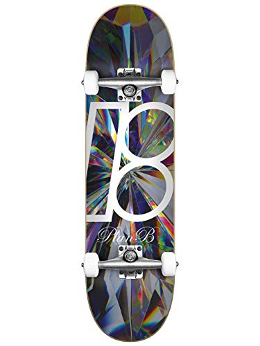 Plan B Skateboard Complete Deck Team Kaleidoscope 8.0