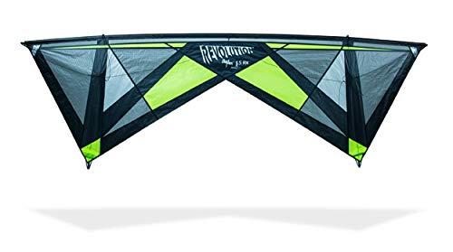 Revolution Kites Revolution Lenkdrachen 4 Linien Reflex 1.5 RX (Griff), Lime #1