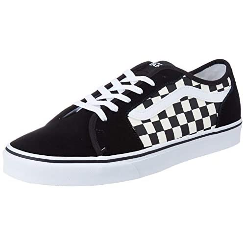 Vans Filmore Decon, Sneaker Uomo, Multicolore ((Checkerboard) Black/White 5GX), 42 EU