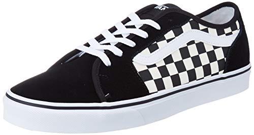 Vans Filmore Decon, Sneaker Hombre, Tablero de ajedrez Multicolor, Negro, Blanco, 5gx, 44 EU