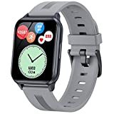 WPH Y79 1.75 Pulgadas Smartwatch Men Touch Full Touch Mujer Fitness Tracker Presión Arterial Bluetooth IP68 Impermeable,E
