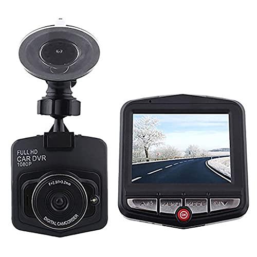 MAODEN Mini cámara de Video dvr para automóvil, 2.7 Pulgadas, HD 2.4p, Full HD 1080p, grabadora de Video, grabadora con Sensor g, cámara de Tablero, para camión de automóvil