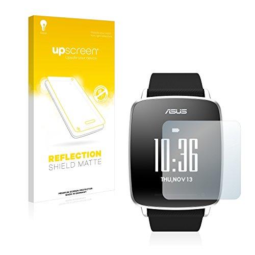 upscreen Entspiegelungs-Schutzfolie kompatibel mit Asus Vivowatch – Anti-Reflex Bildschirmschutz-Folie Matt