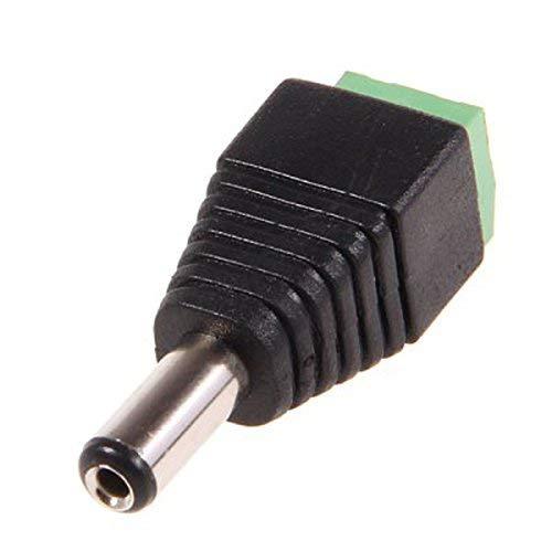 Générique 2.1 mm DC mâle Mini connecteur Jack d'alimentation pour Bande LED Light (100)