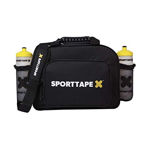 SPORTTAPE bolso médico fisio deportivo - Bolsa de equipo médico de primeros auxilios para primeros auxilios Touchline impermeable grande (vacía - solo bolsa)