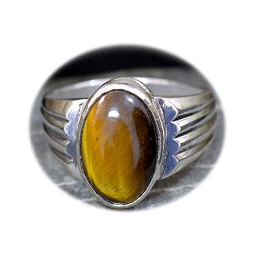 55Carat Herren - Nicht zutreffend Silber Ovalschliff braun
