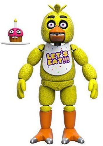 Funko Five Nights at Freddy's Articulated Chica Action Figure, 5-inch