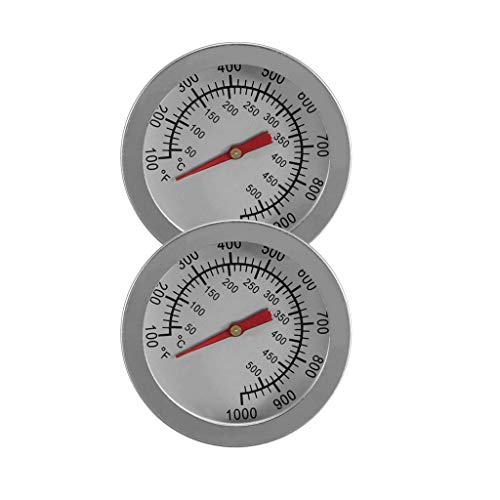 Fenteer 2pcs Thermometer/Backofenthermometer, 50~500 ℃