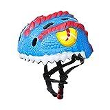 XKMY Casco de bicicleta para niños con diseño de dinosaurio 3D,...