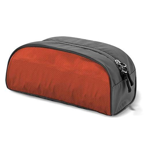 Voyage Trousse De Maquillage Pliable De Stockage Imperméable De Grande Capacité Portable Multi-Fonction Simple Lavage Universel 3 Couleur 25 * 13 * 11cm MUMUJIN (Color : Orange)