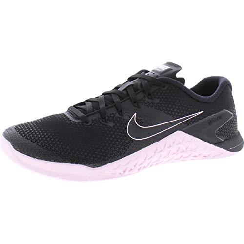 Nike Metcon 4, Zapatillas de Trail Running para Hombre, Multicolor (Black/Black/Pink Foam/Gunsmoke...