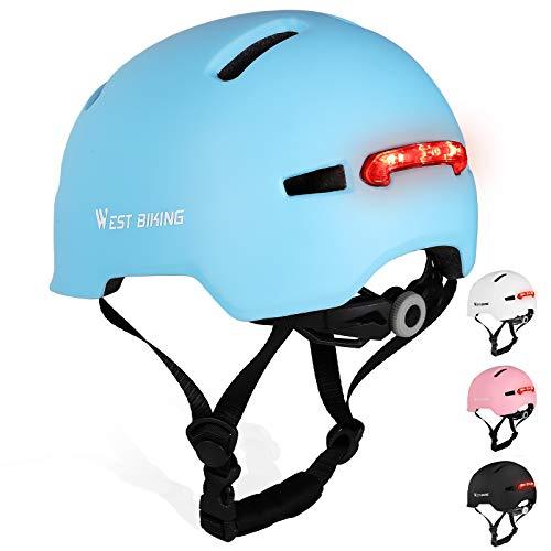 WESTLIGHT Helm Fahrrad Herren MTB,Sicher,komfortabel,Atmungsaktiv und Leicht Rennradhelme für Männer,Skateboard Fahrradhelm Bamen,MTB Jugendhelm Damen,Fahrradhelme für Erwachsene Herren 57-61CM