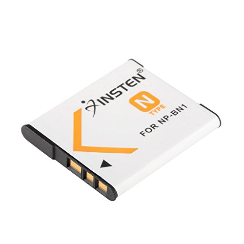 Insten Li-ion NP-BN1 Battery Compatible with Sony NP-BN1 Cyber-Shot DSC-QX10 QX100 T99 T110 TF1 TX5 TX7 TX9 TX10 TX20 TX30 TX55 TX66 TX100V TX200V W310 W320 W330 W350 W360 W380 W390 W510 W515PS W520
