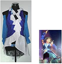 fantasycart Final Fantasy Yuna and Lenne Songstress Cosplay Costume Size M