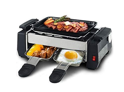 NANXCYR Barbecue Grill Style Cuisson coréen antiadhésif, sans fumée, dans Un Plat allant au Four, for Une Personne 1-2 Personnes