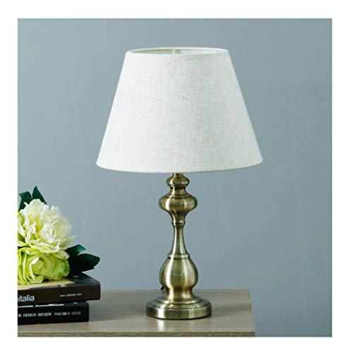 Lampe de table F Lampe de table chambre lampe de chevet simple et moderne (Couleur : B-Remote control)