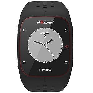 Polar M430 Reloj de Entrenamiento con GPS y Pulsometro de Muñeca, Unisex Adulto, Negro, M-L