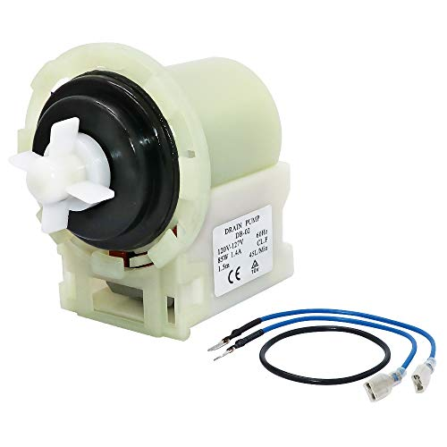 Primeswift 8540024 Washer Drain Pump Compatible with Whirlpool Kenmore Maytag Washing Machine,Replaces W10117829 W10730972