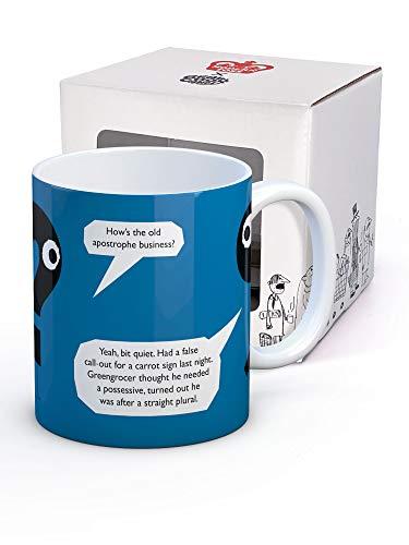 Brainbox Candy - Taza de café divertida, en caja de regalo, regalo de Navidad o cumpleaños para hombres y mujeres que tienen todo, diseño de apóstrophe Business