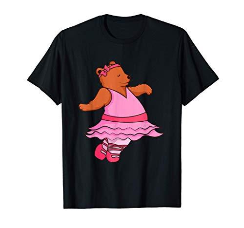 Teddy Bear - Camiseta de bailarina de ballet, diseño de anim Camiseta