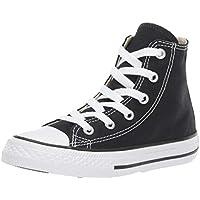 Converse Youths Chuck Taylor All Star Hi Zapatillas de tela, Unisex - Infantil, Negro, 27