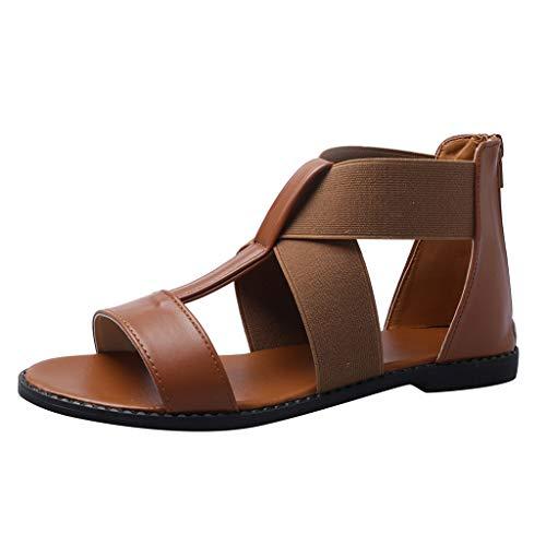 PAOLIAN Sandalias para Mujer Verano 2020 Fiesta Planas Zapatos Mujer Playa Elegantes...