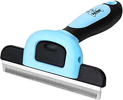 Pet Grooming Brush Effectively Reduces Shedding by Up to 95% Professional Deshedding Tool for Dogs and Cats by Pet Neat