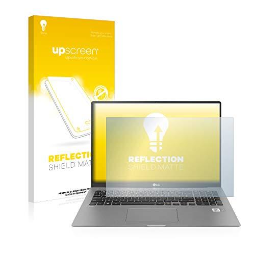 upscreen Entspiegelungs-Schutzfolie kompatibel mit LG Gram 17'' 2020 – Anti-Reflex Bildschirmschutz-Folie Matt